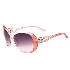Pagacat Women Fashion Oval Shape UV400 Framed Sunglasses Sunglasses