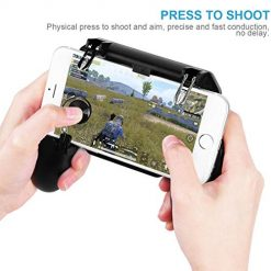 Mobile Game Controller Phone Game Trigger Phone Holder Mobile Game Trigger&Phone Grip W11+