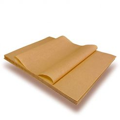 Parchment Paper Baking Sheets, Unbleached and Precut Non-Stick, Non-toxic and Come in Zip Lock Bag, Not Burn or Curl, Parchment 12x16 Inch
