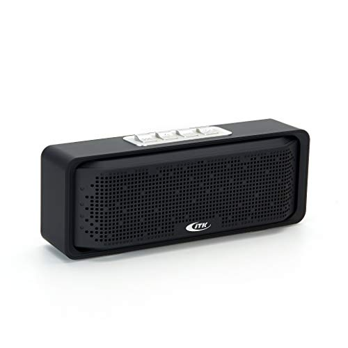 TK Portable Bluetooth Speaker. (Loud Stereo Sound, Rich Bass, 20H Playtime) Built in Mic. Perfect Wireless Speaker Compatible for iPhone, Samsung, Computer