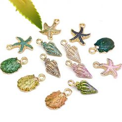 Ladiy Fashion Mixed Starfish Shell Conch Charms Pendant DIY Jewelry Accessory Jewelry Accessories