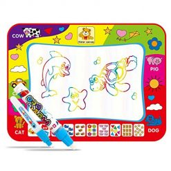 Pagacat Children Early Education Baby Cartoon Water Painting Cloth Graffiti Blanket Drawing & Sketch Pads