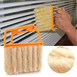 Ladiy Handheld Air Conditioner Shutters Window Blind Brush Dust Cleaner Tool Brushes