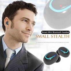 Asatr HD Sound Quality Wireless Sporting One-Button Contr Bluetooth Headset Bluetooth Headsets Black