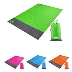 Zouvo Foldable Portable Blankets Waterproof Sand Proof Outdoor Picnic Blanket