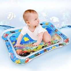Zhouxt Water Play Mat Inflatable Baby Mat Tummy Time Mat for Babies Infants and Toddlers Child Development Accessory Fun and Entertaining for Stimulation