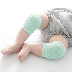 Asatr Kids Knee Guards Baby Non-slip Crawling Sports Protective Gear Socks