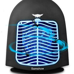 Samshow Bug Zapper Light - Lot Light with Photocell - Indoor Pole Mount Light for Large Area