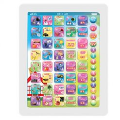 Pagacat Kids Tablet Touch Screen Learning Machine Children Educational Toy Toy Organizers