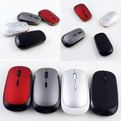 Caiuet- Wireless Mouse 2.4GHz 4 Buttons Gaming USB Wireless Mouse for PC Laptop Mice