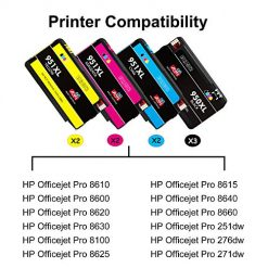 JIMIGO Compatible Ink Cartridge Replacement for HP 950XL 951XL 950 951 for  Officejet Pro 8610 8600 8620 8630 8640 8660 8100 8615 8625 251dw 271dw