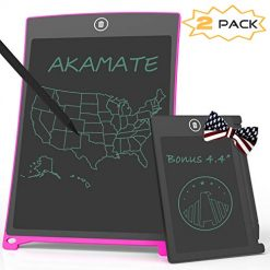 AKAMATE LCD Writing Tablet, Electronic Writing Drawing Board Doodle Pad, 8.5 inch Digital Smart Paper Drawing Tablet Gift for Kids at Home, School and Office (8.5