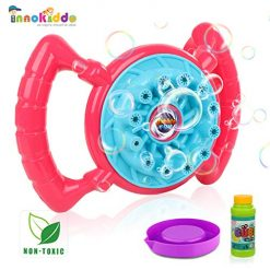 INNOKIDDO-Bubble Machine, Bubble Blowerfor Kids, 800+ Bubbles per Minute, Hand-held Bubble Toys for Boys &Girls, Bubble Maker for Outdoor or Indoor Use