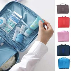 Wildtrest Portable Toiletry Bag Multifunction Cosmetic Makeup Bag Travel Storage Bag Cosmetic Bags