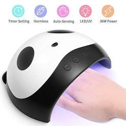 Mobray 36W LED UV Gel Nail Dryer Curing LED Nail Lamp 3 Time Professional Gel Nail UV Light LED Light Nail Polish Art with for Fingernail & Toenail Gels Based Polish Sensor Nail Light Lamp