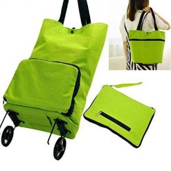 Asatr Multi-function Large-capacity Luggage Cart Bag Foldable Shopping Tote Bag Kitchen Storage & Organization Accessories