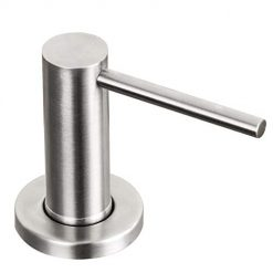 Kitchen Sink Soap Dispenser Brushed Nickel GAPPO Countertop Pump Hand Lotion Built In Bottle