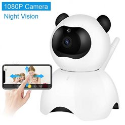 NewPal baby monitor, Wireless 1080P Security Camera, WiFi home Surveillance IP Camera for baby/pet/nanny monitor with PTZ Remote/ Motion Detection/ Two Way Audio and Night Vision
