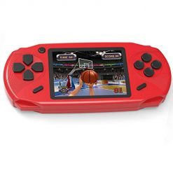 Beijue 16 Bit Handheld Games for Kids Adults 3.0'' Large Screen Preloaded 100 HD Modern Video Games Seniors Electronic Game Player for Boys Girls Birthday Xmas Present (Red)