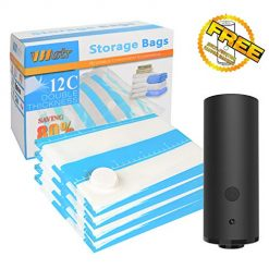 Travel Vacuum Storage Bags with Electric Pump,VMSTR Medium Small Space Saver Bags for Travel and Home Use