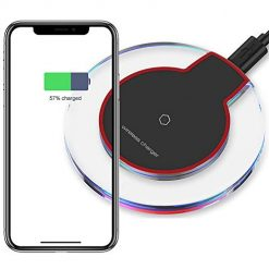 Fast Wireless Charger,7.5W Qi-Certified Wireless Charging Pad Compatible iPhone Xs/XS Max/XR/X/8/8 Plus/New Airpods,10W Charger Base Compatible Samsung S10 S10+ S10e S9 S9+ S8 S8+ S7 Note9/8/505