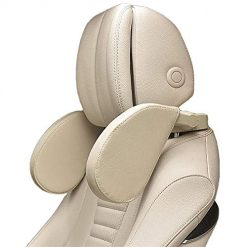 Amazon Coupon Discount Code Deal: Xflyee Car Headrest Adjustable Safe Car Seat Pillow for Head and Neck Support Travel Sleeping Cushion for Kids Adults Beige