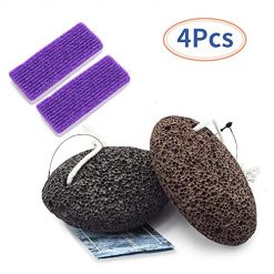 Amazon Coupon Discount Code Deal: TOUGS Pumice Stone for Feet, Hard Skin Callus Remover and Scrubber, Callus Remover Foot Scrubber Home Pedicure Exfoliation, 5 Pack