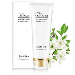 Amazon Coupon Discount Code Deal: Kayla-Ism Facial Cleanser | 28 days Skin Tightening | Face Wash with Organic & Natural Ingredients | Amino Acid Moisturizing Face Cleanser | Oil Control and Makeup Removal