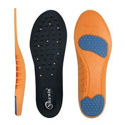 Amazon Coupon Discount Code Deal: Plantar Fasciitis Insoles for Men Women with Enhanced Arch Support Foot Pain Relief Massaging Cushion Shoe Inserts for Flat Feet High Arch Heel Pain Work Boots