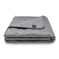 YOLIPULI Weighted Blanket for Kids 7 lbs, 40 x 60inches Heavy Blanket with 100% Natural Cotton and Cooling Glass Beads