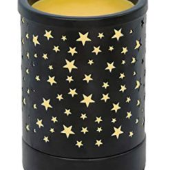 NOTOC ,Candle Warmer,Fragrance Warmer,Wax Insulation Cabinet,Classic Black Iron Art,SPA Fragrant Oil Small Heating Lamp, Home Decoration.