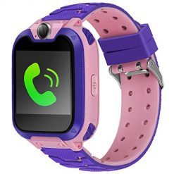 Smart Watch for Kids Watch Kids Watches Girls Boys Kids Phone Watch Kids Game Smart Watch Kids Digital Watch with 1.54 inch HD Color Touch Screen Camera Alarm Clock Birthday Gifts for Girls Boys