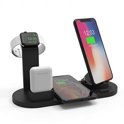 BIGTREETECH Wireless Charger Stand Station, 3 in 1 Wireless Charging Dock for Apple Watch and Airpods, Qi Fast Wireless Charging Stand Compatible iPhone X/XS/XR/Xs Max/8/8 Plus