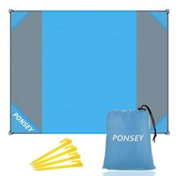 Amazon Coupon Discount Code Deal: Beach Blanket 200x200cm Picnic Blanket Waterproof Anti Sand Beach Mat Portable Mat Rug for Camping, Travel, Hiking,Sports