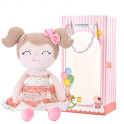 Amazon Coupon Discount Code Deal: Gloveleya Baby Doll Baby Girl Gifts Cloth Dolls Kids Plush Toys 16.5'' with Box