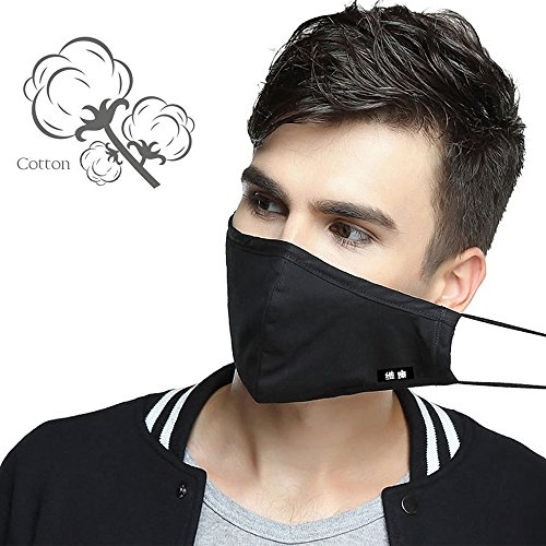 PM2.5 N95 Respirator Cotton Mouth Masks Replaceable Filter