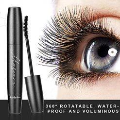 Amazon Coupon Discount Code Deal: Kayla-Ism Mascara Black | 4D Silk Fiber Eyelash Mascara | 360° Rotatable, Waterproof & Voluminous | Long-lasting Color | Volume Long Lash Mascara