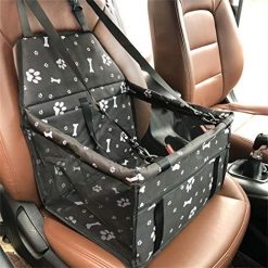 Fanala Car Pet Carrier Waterproof Portable Folding Dog Cat Travel Safety Seat Bag Seat Covers
