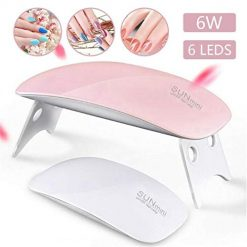 Asatr Mini UV LED Nail Lamp Portable Nail Dryer Gel Nail Art Tool Nail Dryers