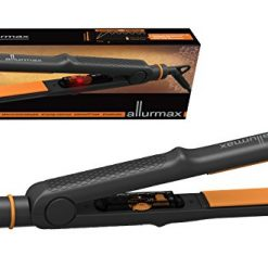 ALLURMAX Professional Hair Straightener, Flat Iron, with Tourmaline Ceramic Ionic, Fuzzy Logic Circuit temperature control