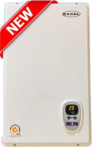 Best Gas Wall Heaters That Look Good, Excel Pro Tankless Gas Water Heater NATURAL GAS 6.6 GPM Whole House and for Hydronic heating Compare to Rinnai, Rheem,Noritz, Bosch FREE FLUE KIT