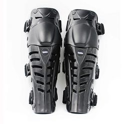 Best Motorcycle Knee Pads On Amazon, UPBIKE Adults Motorcycle Knee Pads Armor Protective Gear Guard Pads Motocross Racing kneepads use on legs (BLACK)