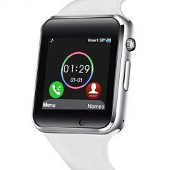 Smartwatch Messages. 321OU Smart Watch Touch Screen Bluetooth Smart Watch Smartwatch Phone Fitness Tracker SIM SD Card Slot Camera Pedometer Compatible iPhone iOS Samsung LG Android Men Women Kids (White)