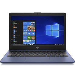 Laptops For Microsoft Office On Amazon, HP Stream 11-Inch Laptop, Intel X5-E8000 Processor, 4 GB RAM, 32 GB eMMC, Windows 10 Home in S Mode with Office 365 Personal and 1 TB Onedrive Storage for One Year (11-ak1010nr, Royal Blue)