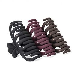 DEATTI Hair Claw Clips for Women 3 Color Available,Very Strong Hold for Thick Hair