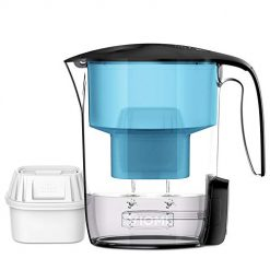 VIOMI Xiaomi Mi 10 Cup Water Filter Pitcher, UV Sterilization Water Filtration Kettle with 7-Stage Filter Giving you Good-taste & Healthy Drinking Water