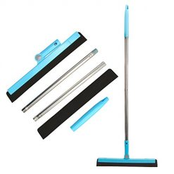 KOLLIEE Floor Squeegee Adjustable Professional Water Squeegee Foam with 50