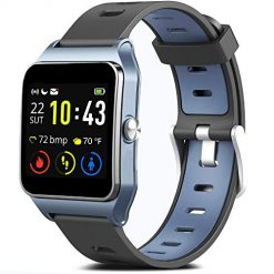 Smartwatches You Can Reply to Texts. MorePro GPS Smart Watch with 17 Sports Mode Cycling Running Watches IP68 Swimming Waterproof Fitness Tracker, Heart Rate Monitor Smartwatch for Women Men Compatible with iPhone & Android