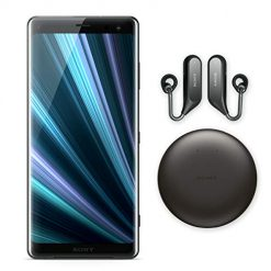 "Best Phones For Recording Video. Sony Xperia XZ3 Unlocked Smartphone - Xperia Ear Duo (Bundle), 64GB - 6.0"" OLED Screen - Black (US Warranty)"