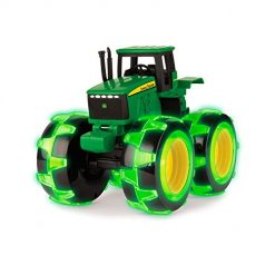 Best Kids Tractors Toys On Amazon. John Deere Monster Treads Lightning Wheels Tractor